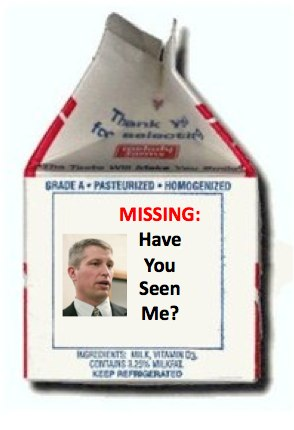 Missing milk carton template