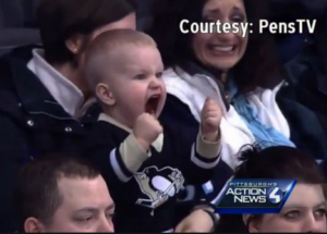 toddler_cheering_hockey_fight_-_Google_Search